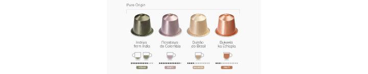 NESPRESSO咖啡胶囊各种口味比较