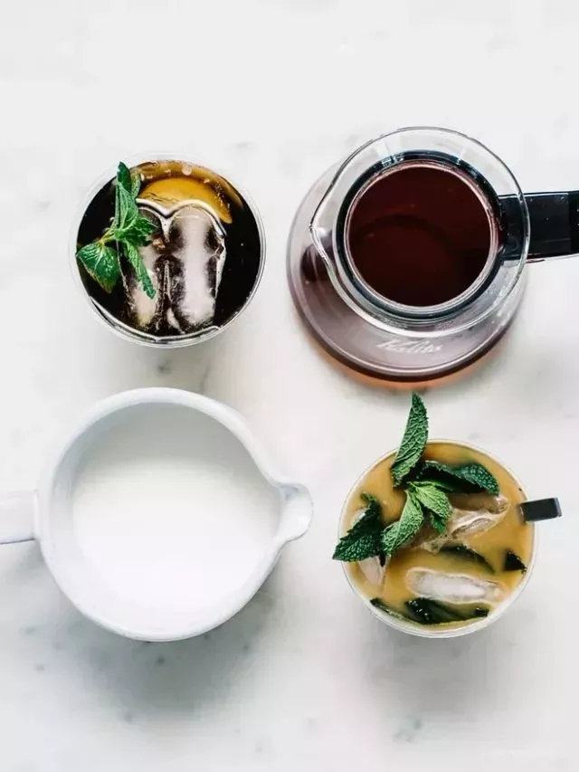 一杯入夏,满分的冰滴咖啡莫吉托