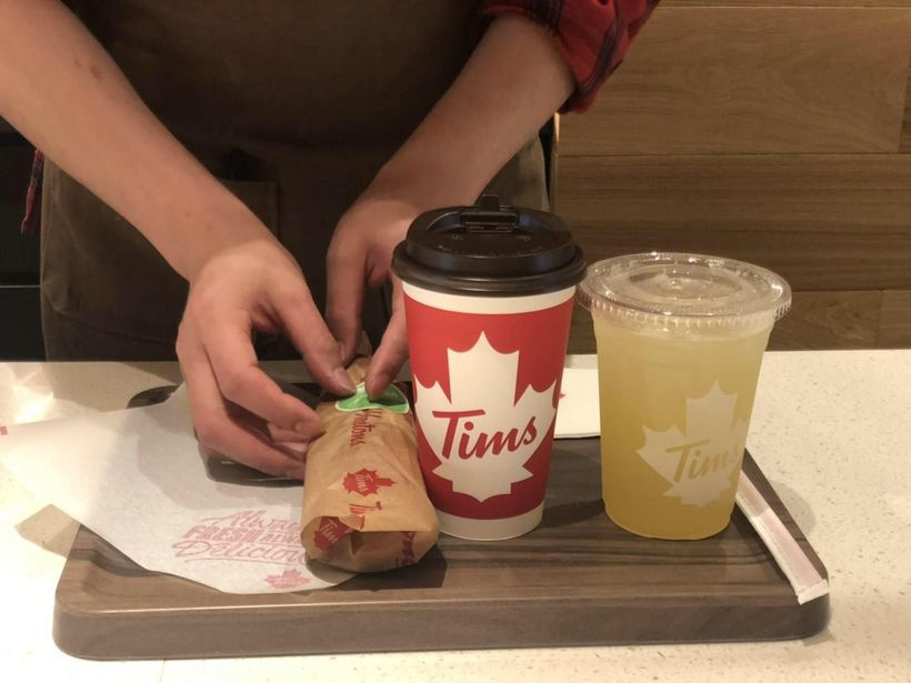 探店加拿大国民咖啡【Tim Hortons】