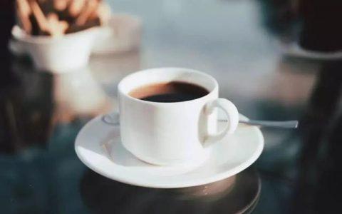 喝了黑咖啡后 我获得了双倍的快乐