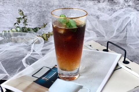 咖啡+苏打水,这对夏日新CP好美又好喝
